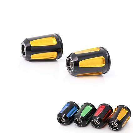 Amazon.com: Gold FAIZ CNC Bar End Sliders For Kawasaki Z650 ...