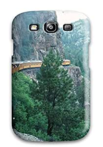 Top Quality Case Cover For Galaxy S3 Case With Nice Train Appearance