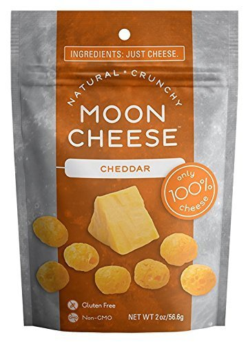 Moon Cheese, Cheddar, 2 oz Bag (Pack of 12)