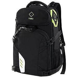 TUBU Video Camera Backpack Fit 2 Pro-sized DSLR / SLR Camera, 3-5 Lenses, 15.6 inch Laptop For Outdoor Travel 6070