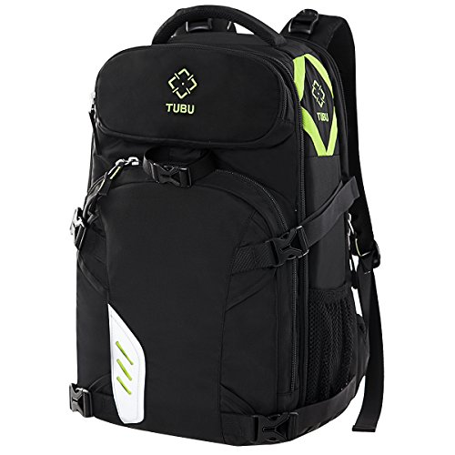 TUBU Video Camera Backpack Fit 2 Pro-sized DSLR / SLR Camera, 3-5 Lenses, 15.6 inch Laptop For Outdoor Travel 6070