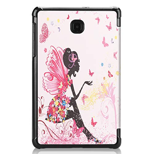 IVSO Samsung Galaxy TAB A 8.0 2018 T387 Tablet Case, Ultra Lightweight Protective Slim Smart ProtectiveCover Case for Samsung Galaxy TAB A 8.0 2018 T387 Tablet (Fairy Girl)