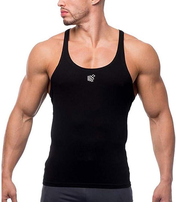 SROTER Canotta Sportivo Bodybuilding Fitness Stringer Canottiera da Uomo