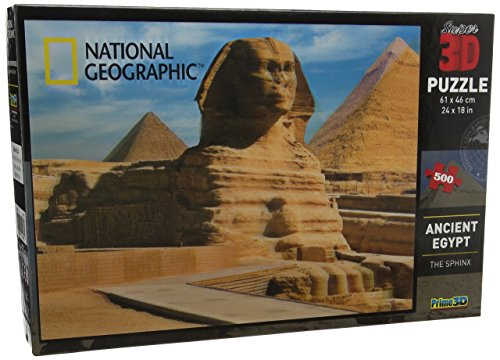 National Geographic Super Ancient Egypt/The Sphynx 3D Puzzle - Ancient Puzzles Egypt
