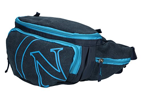 Pouch herren SSC NAPOLI blau Mehrkammerbeutel Sport Arbeit VF180
