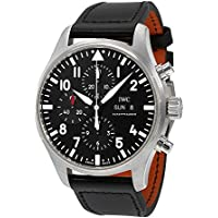 Pilot Black Automatic Chronograph Men's Watch
