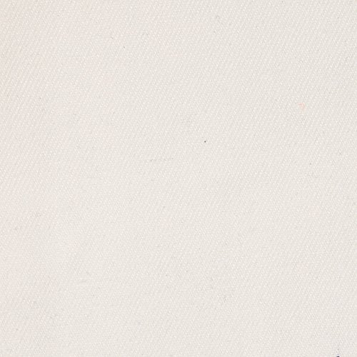 12 oz Brushed Bull Denim White Fabric By The Yard (Upholstery Solid Cotton)