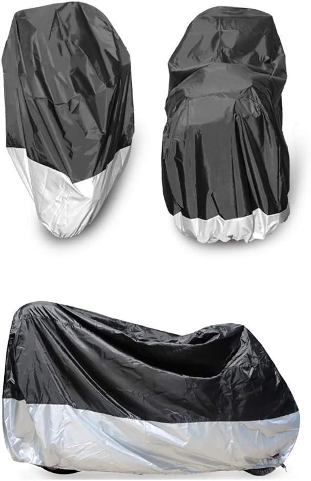 210D Oxford con Cubierta de Moto antirrobo PU Revestimiento Impermeable HWHCZ Fundas para Motos Compatible con la Cubierta de la Motocicleta BMW F900XR Interior//Exterior