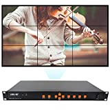 LINK-MI TV09 Video Wall Controller 3x3 2x4 4x2 2x3 2x3 2x2 4x1 HDMI+VGA+AV+USB LED/LCD image processor screen splicing
