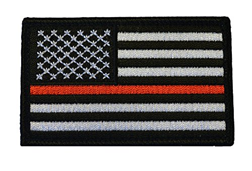 American Tactical Supply Co. American Flag Patch, Thin Red - Profile Australia Frames