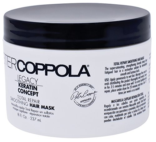 Amazon.com: Peter Coppola Legacy Total Repair Hair Mask (8oz) Ultra Moisturizing, Softening and Conditioning, Hair Repair Mask. Rebuild and Strengthens All ...