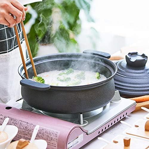 DYXYH Table Ragoût À Double Oreille Petite Maison Soupe Riz Faitout Casserole Gaz Électromagnétique Four Casserole De Cuisson