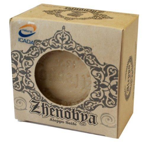 Aleppo Seife Zhenobya, 200 g, 75 % Olivenöl/ 25 % Lorbeeröl