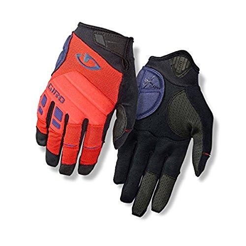 Giro Xen Gloves Vermillon/Uvet Performance Headband (Mountain Challenge Mens Glove)