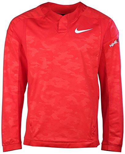 Nike Men's Baseball Vapor Long Sleeve Windshirt-University Red-XL (Nike Vapor Jacket compare prices)