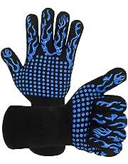 Warome BBQ Gloves 1472℉/800°C Heat Resistant Gloves