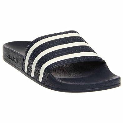 fcb048ad4b8a Adidas Men s Originals Adilette Slides ADI Blue (10 D(M) US)  Amazon ...