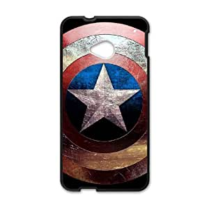 Water Spirit phone Case Captain America For HTC One M7 QQW742254