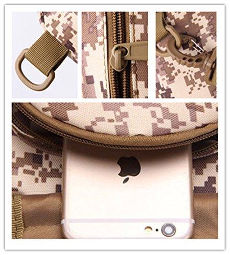 Wewod Mochila de Pecho,Mochilas Escolares de Hombro,Mochila de Un Hombro Militar,Sling Bag for Men 20 x 28 x 10 cm (L*H*W) Colorido-G