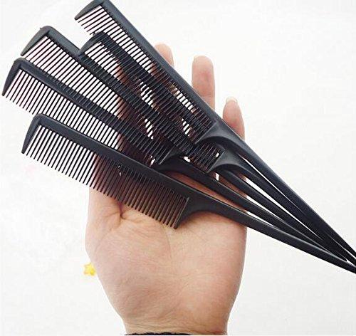(FidgetFidget 200pc/lot Professional Salon Cutting Comb. Hard Plastic Combs.Sharp Point End)
