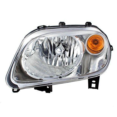 CarPartsDepot Fit 2006-2011 Chevy HHR 4DR Front Facial Head Light Lamp Driver Side GM2502262