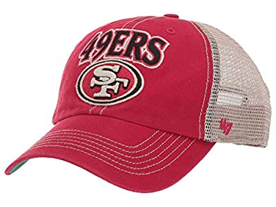 '47 NFL San Francisco 49Ers Tuscaloosa 47 Clean Up Vintage Red One Size