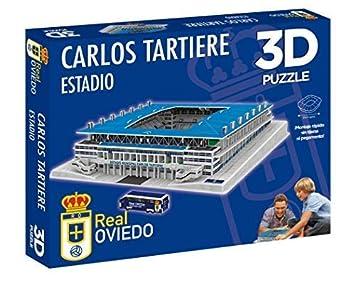 Eleven Force Puzzle Estadio 3D Carlos Tartiere (R. Oviedo) (10827), Multicolor (1)