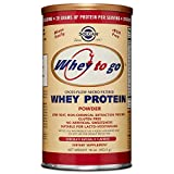 Solgar - Whey To Go  Protein Powder* Natural Chocolate Flavor 16 oz