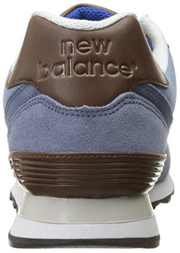 Wl574 New Deporte Claro Zapatillas Balance Azul Hombre De vxUPx