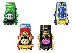 Amazon Thomas The Train DC Super Friends Character 2 4 Pack Toys Games