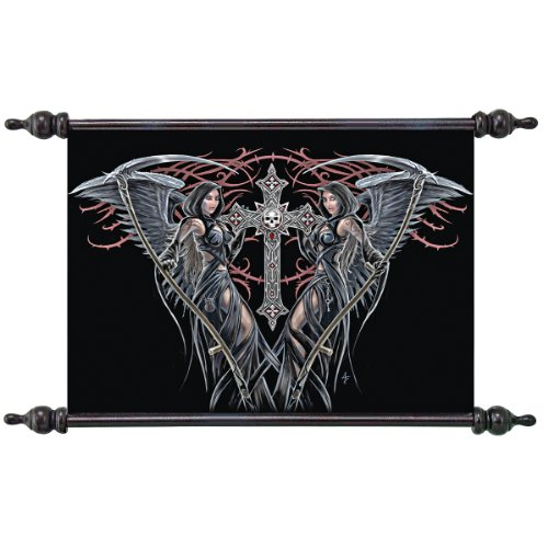 Angels of Death Canvas Scroll Tapestry (Death Scroll)