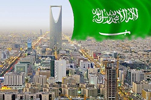 SAUDI ARABIA RIYADH REFRIGERATOR MAGNET FRIDGE MAGNET