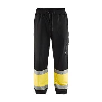 Pantalones de chándal, color azul marino/amarillo, talla 4XL ...