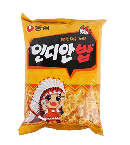 Nongshim corn snacks, cornflakes cereal snacks 83g (Set of 3 bags)