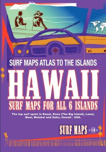 SurfMaps USA Hawaii: 2010 Edition