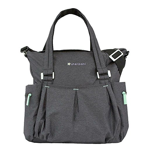 Sherpani Fitness Crossbody Charcoal Heather