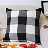 4TH Emotion Set of 2 Farmhouse Buffalo Check Plaid