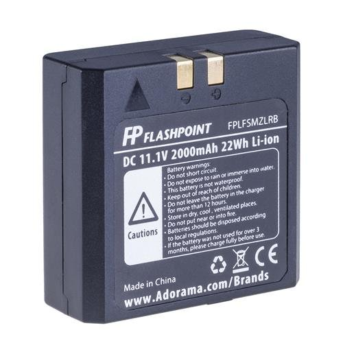 Flashpoint Battery for The Zoom Li-on Flash (VB-18)