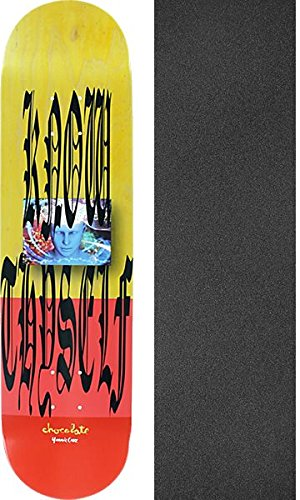あざ検出器下線チョコレートスケートボードYonnie Cruzない旅行スケートボードデッキ – 8