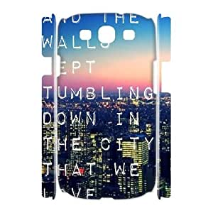 Custom 3D Case for samsung galaxy s3 i9300 w/ Bastille image at Hmh-xase (style 3)