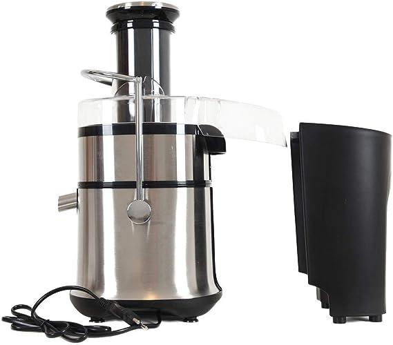 ARIELLI AJE-801SS Estrattore Succo Centrifuga XL per Frutta//Verdura 800W Acciaio