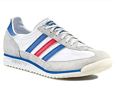 detailed look bcb17 1449a adidas SL 72 Men's Shoes White Size: 8.5: Amazon.co.uk ...