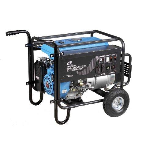 Tsurumi TPG-7000HDXE Generator - 7000 watts