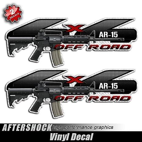 5 56 AR AR15 AR-15 M4 Oval Sticker Car Truck all chrome and regular