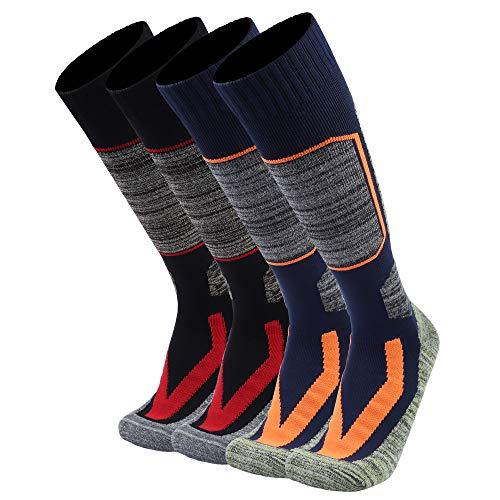 Sierry Ski Socks - Skiing Socks, Snowboard Socks for Womens/Mens Hiking, Cold Weather, Winter Outdoor Sports