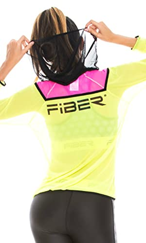Fiber 3 Pieces Piece Set Sets Leggings Top Jacket Gym Workout Tights Pants at Amazon Womens Clothing store:
