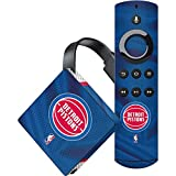 Skinit Detroit Pistons Amazon Fire TV Skin - Detroit Pistons Away Jersey | NBA Skin