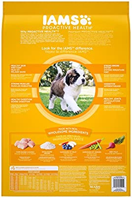 IAMS PROACTIVE HEALTH Smart Puppy Large Breed Dry Puppy Food 30.6 Pounds from IAMS