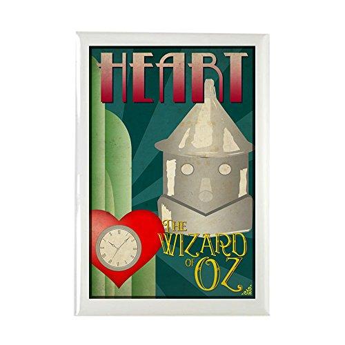 [CafePress - Wizard Of Oz Tin Man Deco Poster Design Rectangle - Rectangle Magnet, 2