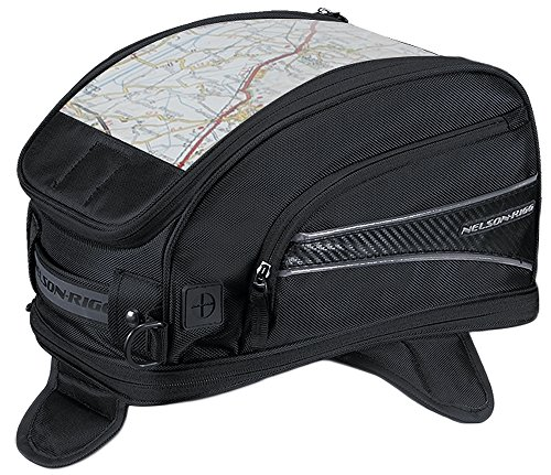 Nelson-Rigg CL-2015-MG Black Magnetic Mount Journey Sport Tank Bag